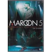 MAROON 5 EM DOBRO LONDON 2014 E LAS VEGAS 2011 DVD NACIONAL
