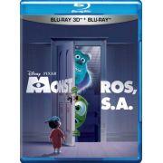 Monstros S.A. 3D+2D - Blu Ray Nacional