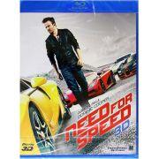 Need For Speed 3D - O Filme - Blu Ray Nacional