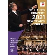 Neujahrskonzert 2021 / New Year's Concert 2021 - Dvd Importado