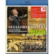 New Year's Concert 2016 Mariss Jansons/Wiener Philharmoniker - Blu ray Importado