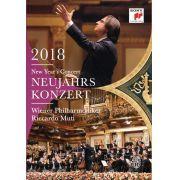 New Year's Concert 2018 - Neujahrskonzert 2018  - Riccardo Muti - Wiener Philharmoniker - Blu Ray Importado