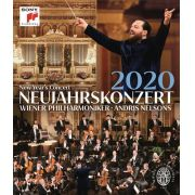 New Year's Concert 2020  Andris Nelsons & Wiener Philharmoniker - Blu ray Importado