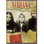 NIRVANA TEATRO CASTELLO - ROMA 1991 - DVD NACIONAL