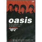 OASIS EM DOBRO - GLASTONBURY 2004 - WEMBLEY 2008 - DVD NACIONAL