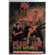 PEARL JAM RIOT ACT 2003 LIVE IN ORLANDO, FLORIDA - DVD NACIONAL