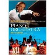 PIANO E ORQUESTRA RICHARD CLAYDERMAN VIDEO COLLECTION & RAY CONNIFF LIVE IN JAPAN 1975 - DVD NACIONAL