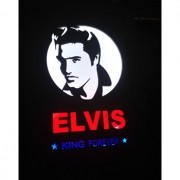 Quadro Led  - Elvis King anos 50