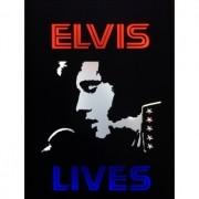 Quadro Led  - Elvis Lives  anos 70