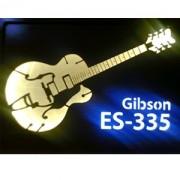 Quadro Led  - Guitar Gibson ES 335