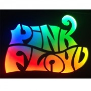 Quadro Led  - Pink Floyd Color