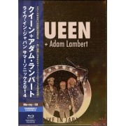 Queen - Adam Lambert - Live In Japan Summer Sonic 2014 - Cd + Blu Ray Importado