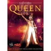 QUEEN MAIS SUCESSOS - LIVE IN BUDAPEST & VIDEO COLLECTION CD + DVD NACIONAL