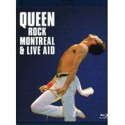 Queen - Queen Rock Montreal & Live Aid  - Blu ray Importado