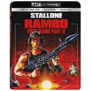 Rambo: First Blood Part II - 4K Mastering, With Blu-ray, 2 Pack - Blu Ray Importado