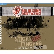 Rolling Stones - From The Vault - Sticky Fingers: Live At The Fonda Theater 2015 - Blu Ray + CD Importado