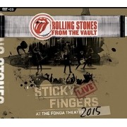 Rolling Stones - From The Vault - Sticky Fingers: Live At The Fonda Theater 2015 - Cd+Dvd Importado