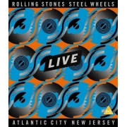 Rolling Stones - Steel Wheels Live: Atlantic City, New Jersey - Blu Ray Importado