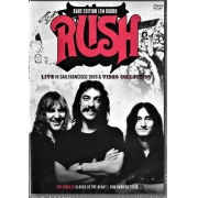 RUSH EM DOBRO - LIVE IN SAN FRANCISCO 1988 - VIDEO COLLECTION - DVD NACIONAL