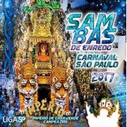 Sambas De Enredo - Carnaval São Paulo 2017 - 2 Cd Nacional