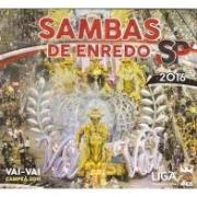 Sambas de Enredo São Paulo 2016 - Cd Nacional