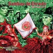 Sambas De Enrendo De São Paulo 2014 - Cd Nacional