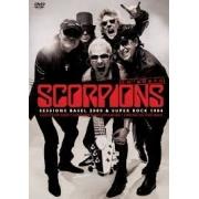 SCORPIONS EM DOBRO - SESSIONS BASEL 2009 - SUPER ROCK 1984 - DVD NACIONAL