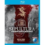 Sepultura & Les Tambours Du Bronx - Metal Veins: Alive at Rock 'n' Rio - Blu ray importado