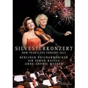 Silvesterkonzert: New Year's Eve Concert 2015 - Berliner Philharmoniker - Simon Rattle - Anne-Sophie Mutter - Dvd