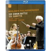 Simon Rattle / Sol Gabetta / Berliner Philharmonik / Sir Simon Rattle & Sol Gabetta - Blu-Ray Importado