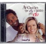 Thalles - As Canções Que Eu Canto Pra Ela - Cd Nacional