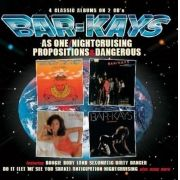 The Bar-Kays - As One - Nightcruising  - Propositions - Dangerous [Import] - 2 Cds Importados