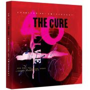 The Cure 40 Live Curaetion 25 + Anniversary 2Blu rays + 4CDs Importados