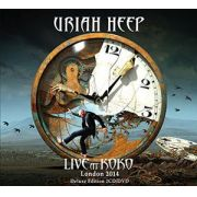 Uriah Heep - Live In Koko London 2014  2 CDS  Deluxe Edition COM DVD