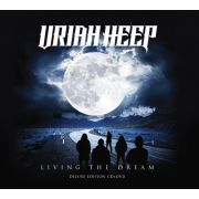 Uriah Heep -  Living The Dream - Deluxe Edition - Cd+Dvd Importado