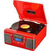 Vitrola Rádio Autorama Vermelho