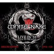 Whitesnake - Live In 84 Dvd+cd