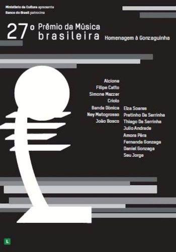 27º Premio da Musica Brasileira - Homenagem a Gonzaguinha - Dvd Nacional  - Billbox Records