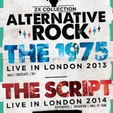 2X ALTERNATIVE ROCK VOL. 02 - THE 1975 LIVE IN LONDON 2013 - THE SCRIPT LIVE IN LONDON 2014 - DVD NACIONAL  - Billbox Records