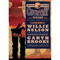 2X COUNTRY WILLIE NELSON IN AUSTIN 2014 E GARTH BROOKS CENTRAL PARK 97 - DVD NACIONAL  - Billbox Records