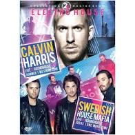 2X ELECTRO HOUSE - CALVIN HARRIS LIVE AT ROUNDHOUSE 2014 - SWEDISH HOUSEMAFIA LIVE AT ROUNDHOUSE - DVD NACIONAL  - Billbox Records
