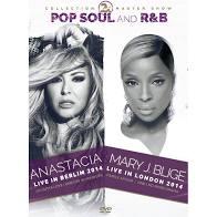 2X POP, SOUL AND R&B - ANASTÁCIA E MARY J BLIGE - DVD NACIONAL  - Billbox Records