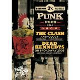 2X PUNK ROCK VOL 02 THE CLASH ANTHOLOGY - DEAD KENNEDYS ON BROADWAY 2003 - DVD NACIONAL  - Billbox Records