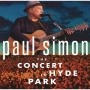 Paul Simon / Concert In Hyde Park - 2 Cds + Blu Ray Importado