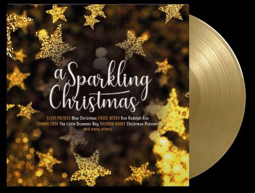 A Sparkling Christmas Various Limited Edition 180gm Gold & Clear - LP Importado  - Billbox Records