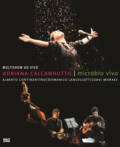 Adriana Calcanhotto - Microbio Vivo - Blu Ray Nacional  - Billbox Records