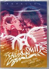 AEROSMITH ESPECIAL - WOODSTOK 1994 - LARGO 1977- DVD NACIONAL  - Billbox Records