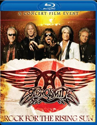 Aerosmith - Rock For The Rising Sun - Blu Ray Importado  - Billbox Records