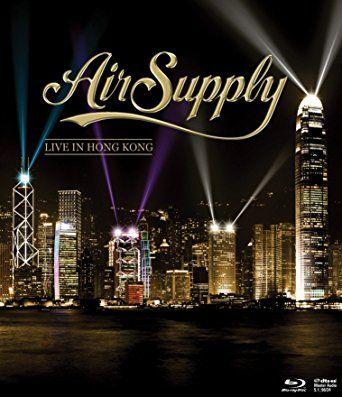 Air Supply - Live in Hong Kong - Blu ray Importado - Produto Raro  - Billbox Records