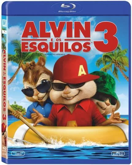 Alvin E Os Esquilos 3 - Blu Ray Nacional  - Billbox Records